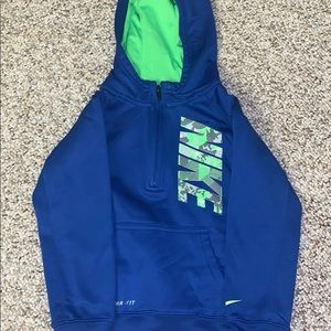 Kids Nike half zip